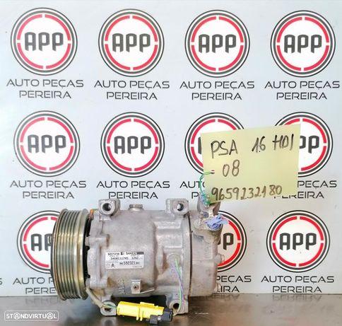 Compressor ar condicionado Citroën Jumpy, Peugeot Expert 1.6 HDI de 2009, referência 9659232180.