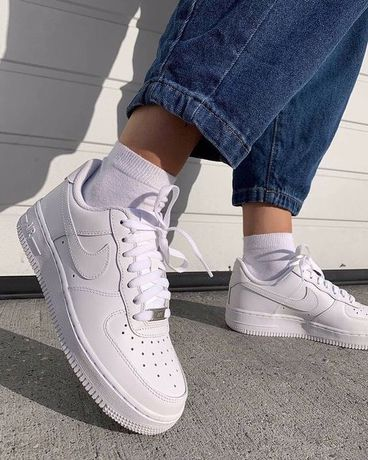 Кроссовки Nike Air Force white 1 / Найк аир форс 36 37 38 39 40 41