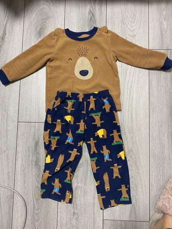 Пижама флисовая на флисе картерс Carters