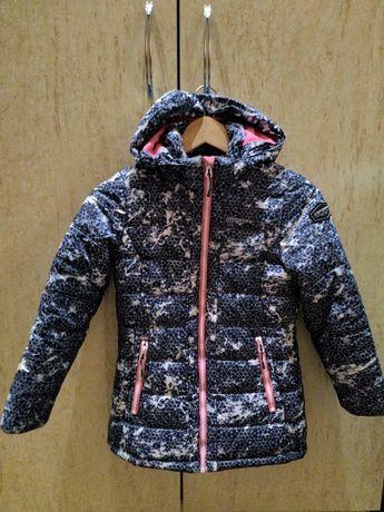 Утепленная курточка Icepeak на девочку, рост 128