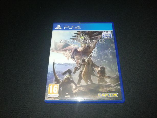 Monster Hunter World PL na ps4 - idealna