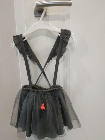 Spódnica, sukienka na szelki 98