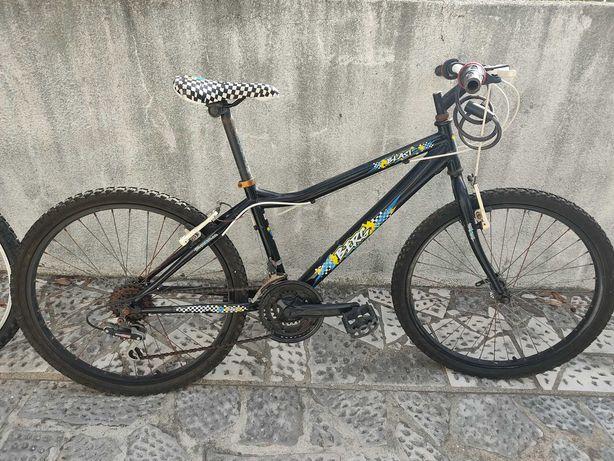 Bicicleta Júnior e bicicleta normal de homem