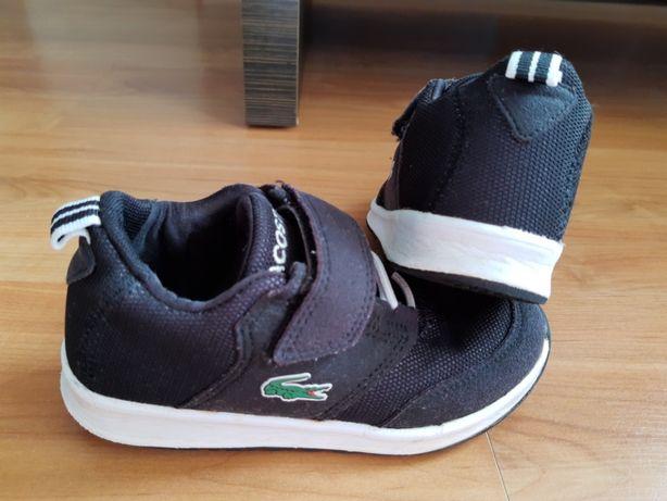 Okazja LACOSTE modne sneakersy, adidasy dziecięce
