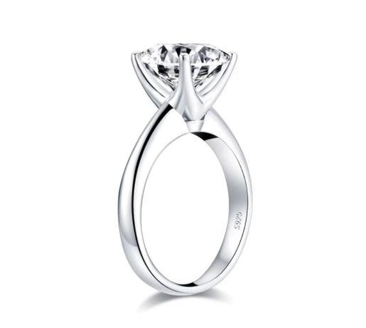 Кольцо серебрянное 925 проба с большим квадратным камнем серебро