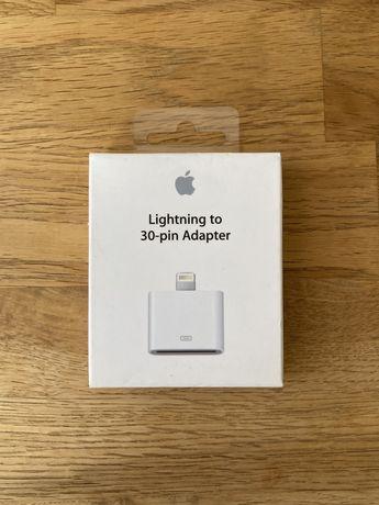 Оригинальный переходник Apple Lightning to 30-pin Adapter (MD823)
