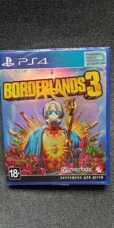 Диск с игрой borderlands 3 для ps4 (запечатанная)