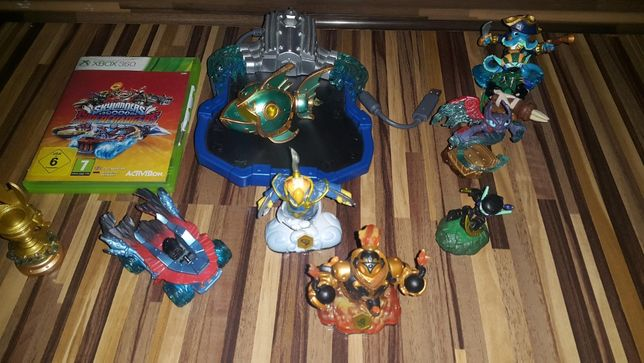 xbox 360 skylanders oraz figurki portal