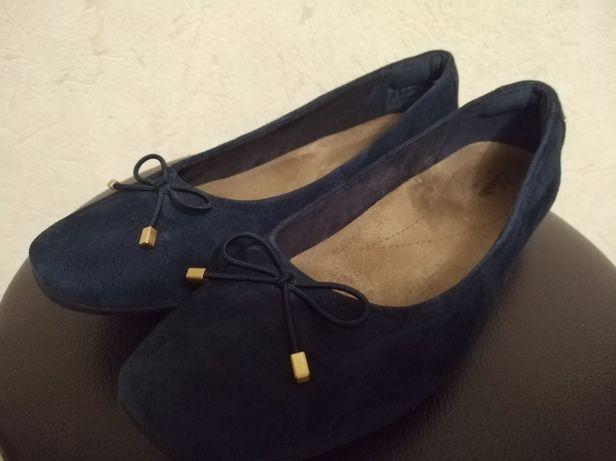 Новые туфли кожа clarks