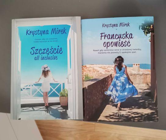 """Książki """"Szczęście all inclusive"""" i """"Francuska opowieść"""""""
