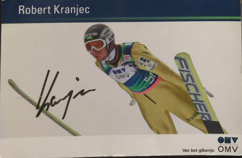 Autograf skoki narciarskie Kranjec Kofler