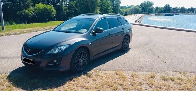 Mazda 6 gh stan idealny, bezwypadek 2.2 diesel
