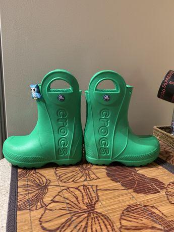 Сапоги резиновые Крокс, Crocs размер С8
