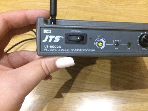 JTS US 800 2D Podwójny odbiornik wieloczęstotliwościowy UHF PLL