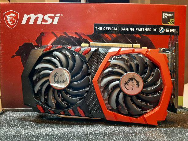 Karta graficzna MSI GeForce GTX 1050 TI GAMING X 4GB GDDR5