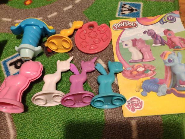 Play doh my little pony kucyki