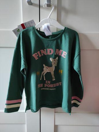 Nowa bluzka bluzeczka C&A Palaminio r.116
