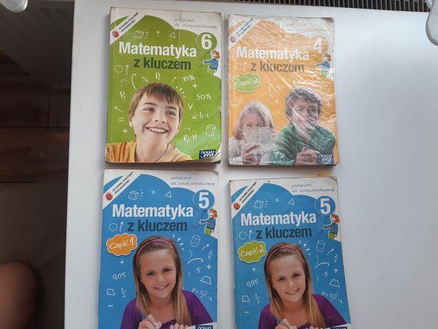 Podręczniki Matematyka z kluczem od 4 klasy do 6 Komplet -> 50 zł