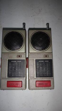 walkie talkie antigos