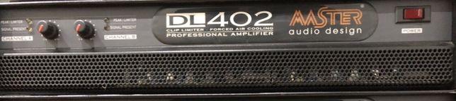 Amplificador Master Audio DL402