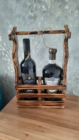 Подарунковий ящик (коробка) для алкоголю.