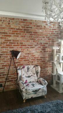 Płytki ze starej cegły rozbiórkowej, płytki ceglane, płytki z cegły
