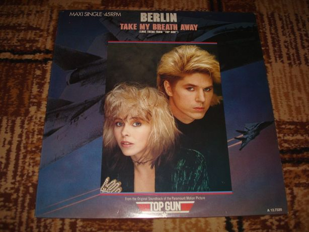 Płyty winylowe Berlin -Teke Me Breath Away Top Gan
