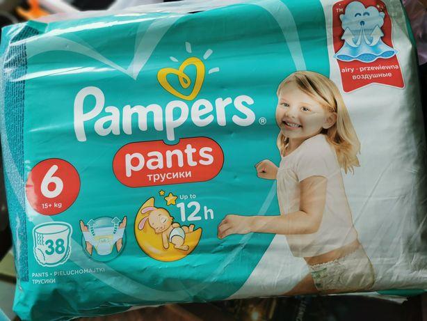 Pampers pants pieluchomajtki rozmiar 6, 15+kg