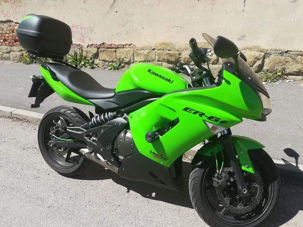 Kawasaki er-6f 650, 2008 od motocyklistki