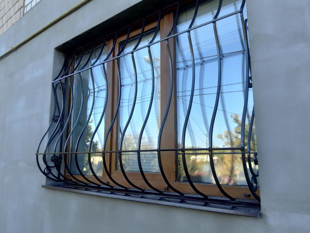 Решетки на окна.Николаев.