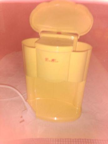 Máquina de café com gaveta, tacho alumínios fundido, ralador alho