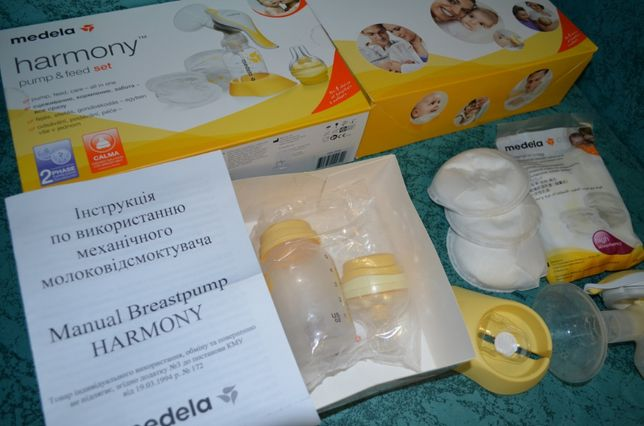 Механический молокоотсос Medela Harmony