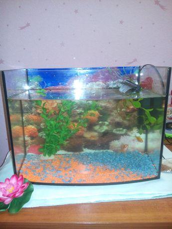 Продам аквариум 28 литров