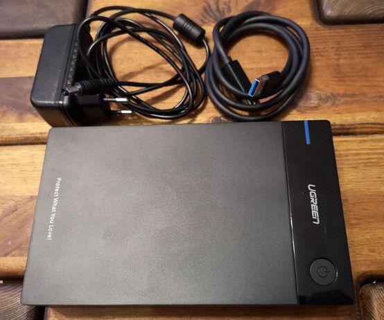 6 TB Obudowa kieszeń dysku 3,5' SATA USB 3.0 HDD UGREEN