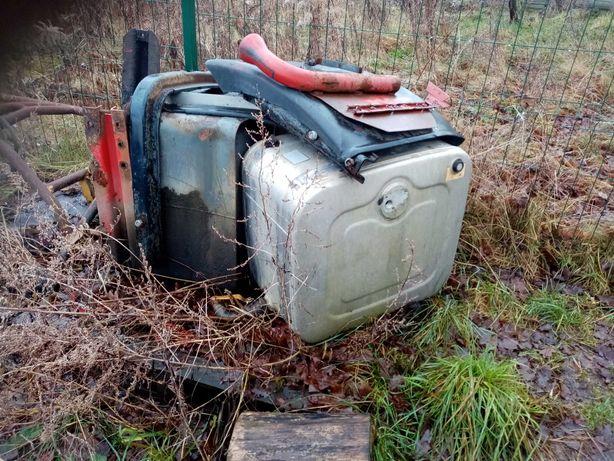 Hydraulika wywrotu scania grs 900 pompa zbiornik przystawka