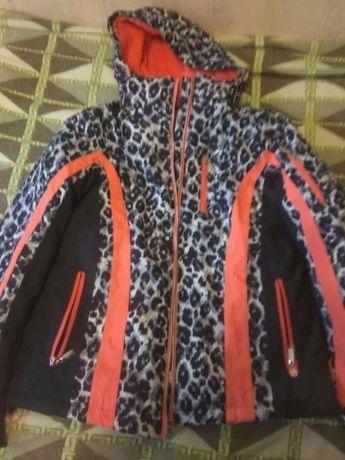 Теплая фирменная куртка из Германии Janina!
