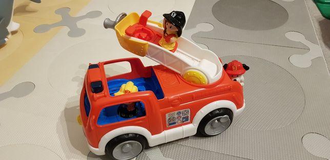 Wóz strażacki  z figurami (3 szt.) - Little People