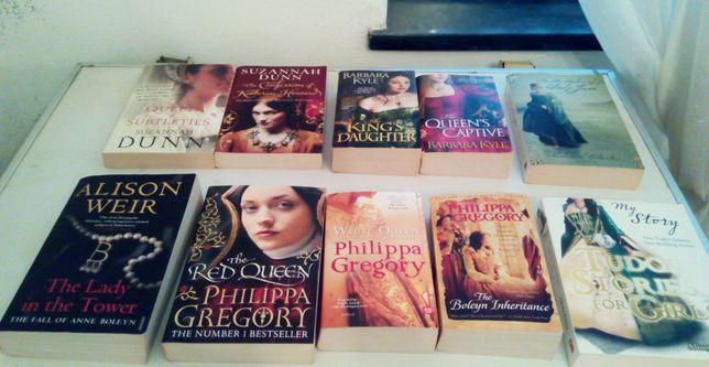 livros Phillipa Gregory, Suzannah Dunn, Barbara Kyle, Allison Weir