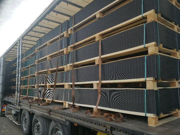 Panel ogrodzeniowy 123 cm fi 4 mm ocynk + lakier bramy słupki PRODUCE