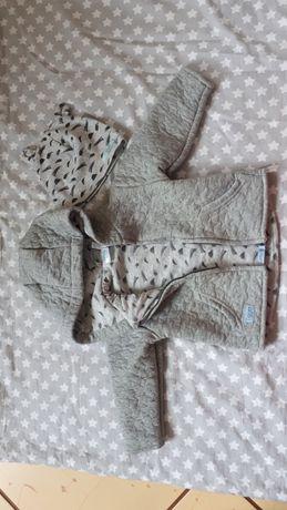 Komplet bluza i czapka r.68/74