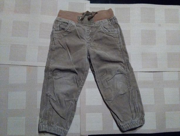 Spodnie sztruksowe na wzrost 92 cm cena
