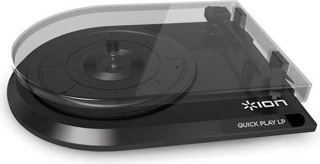 Gramofon ION Quick play LP BK