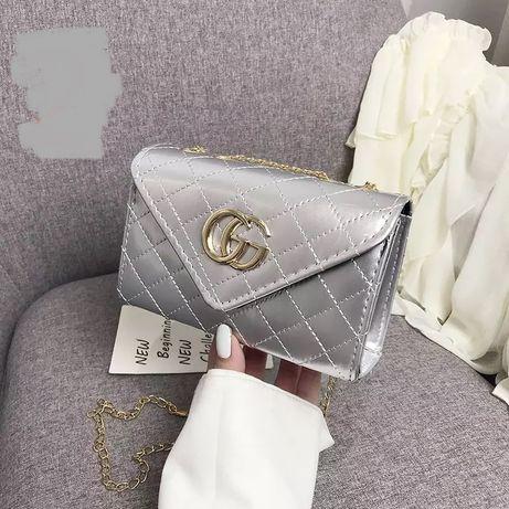 Torebka Gucci Gucci srebrna