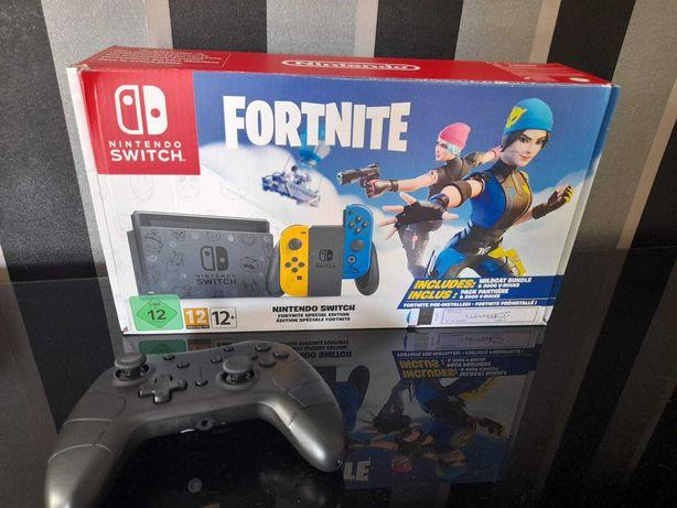Nintendo Switch + 2 jogos + 1 controle sem fio
