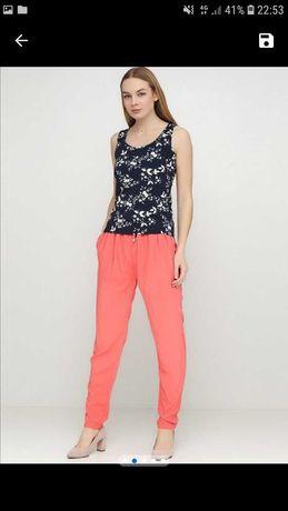 Новые летние гаремки брюки штаны с вискозы