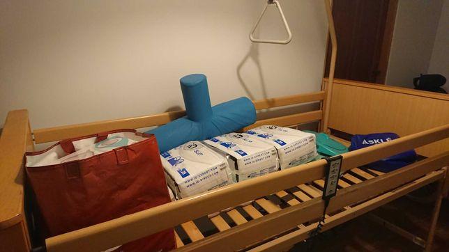 Łóżko szpitalne na pilota.Plus gratisy!