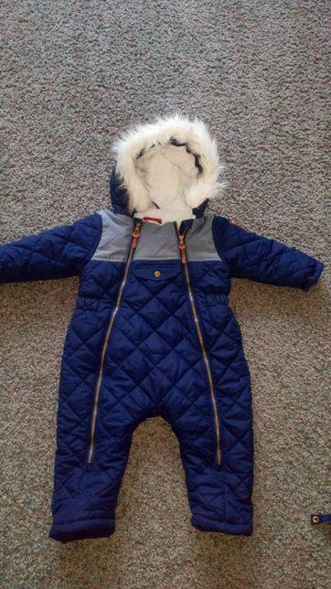 Zimowy kombinezon dla chłopca 5.10.15 - rozmiar 74, jak nowy