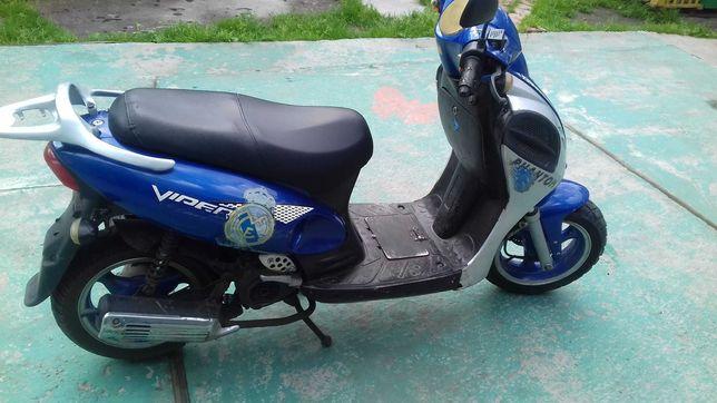 Продаю скутер в задов1льному  стан1 на ходу 6999 грн. торг.