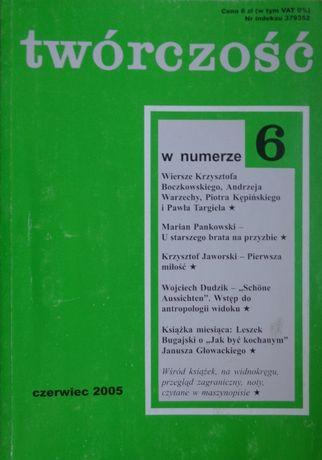 Twórczość nr 6 czerwiec 2005 r.