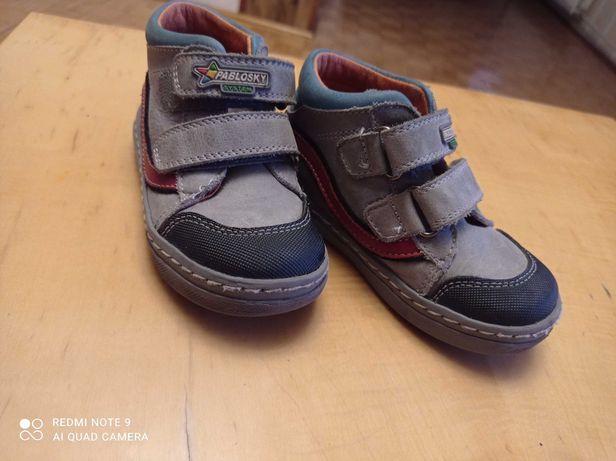 Buty skóra dla chłopca rozmiar 23 Jak nowe